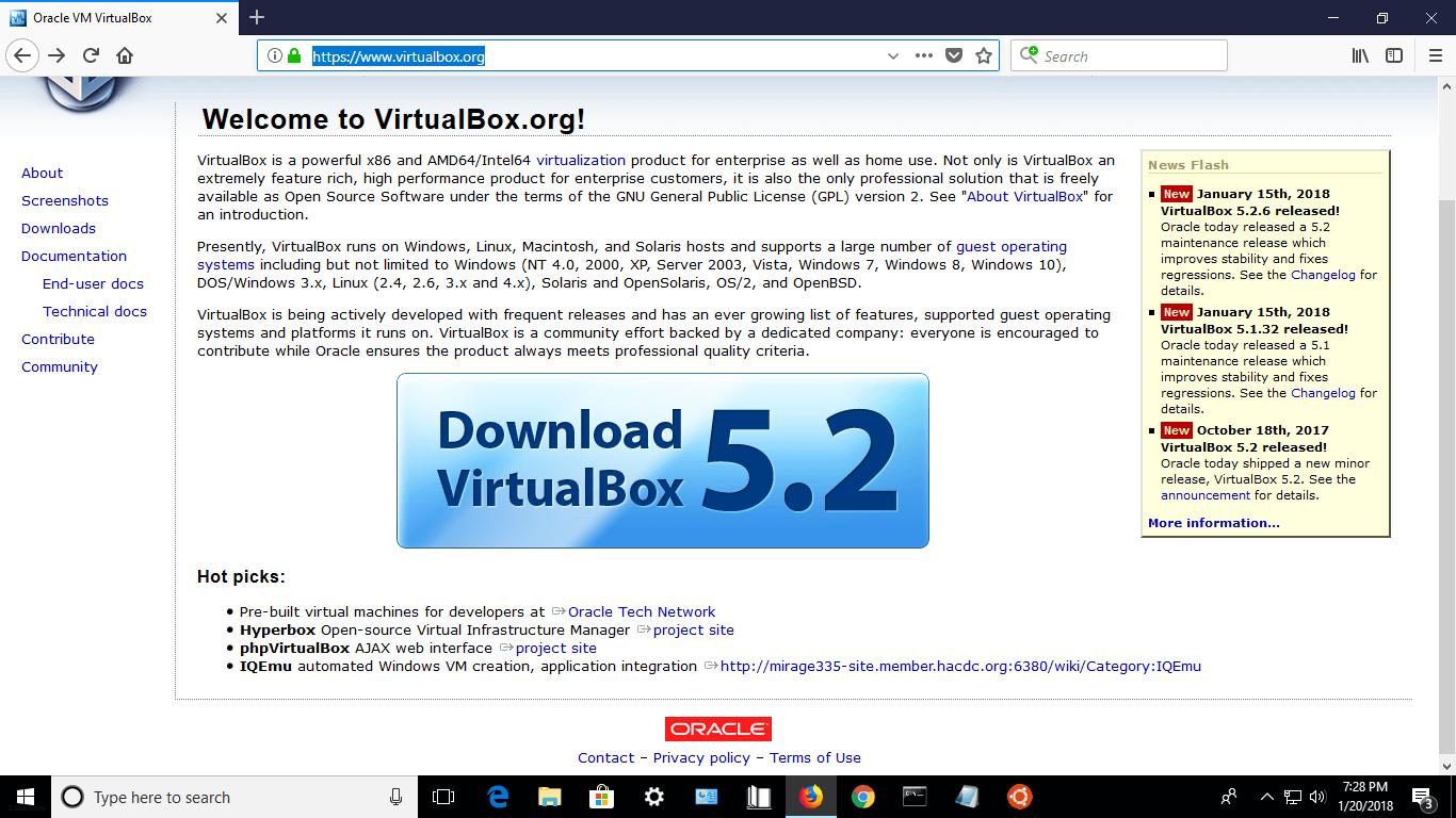 https //www.virtualbox.org download