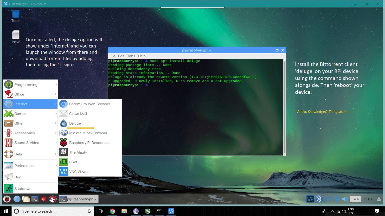 Torrent Box on Raspberry Pi 3 with Raspbian Stretch