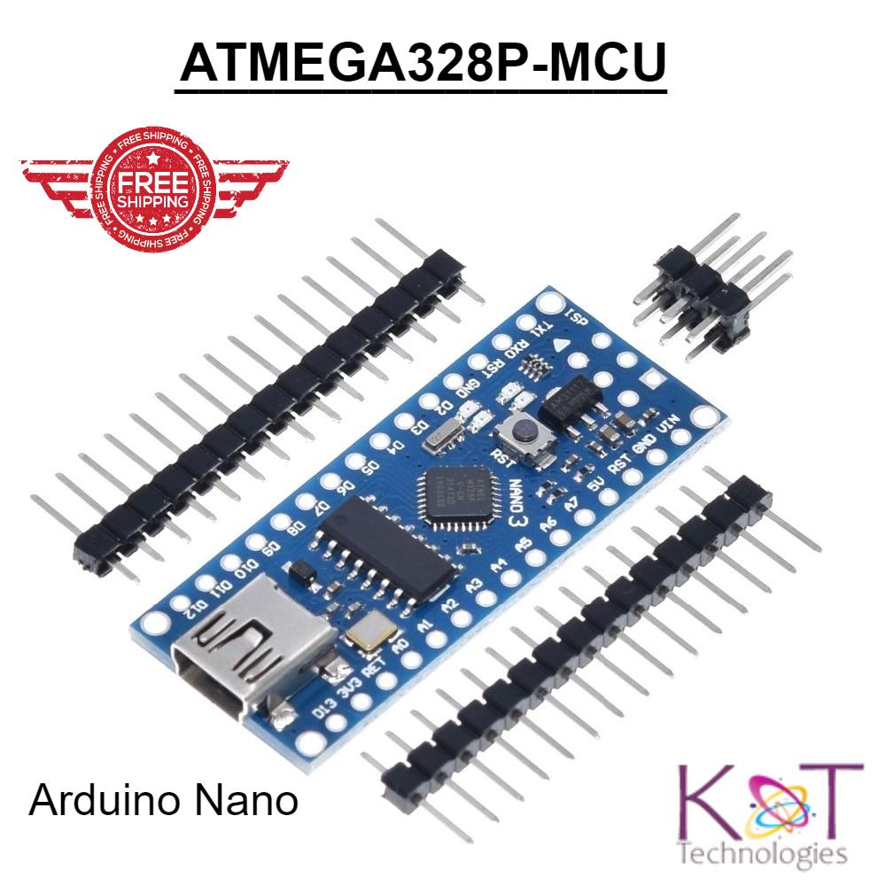 Color : Nano v3.0 Welding USB Cable for arduino Paigu Nano V3.0 Controller ATMEGA328P ATMEGA328 Original CH340